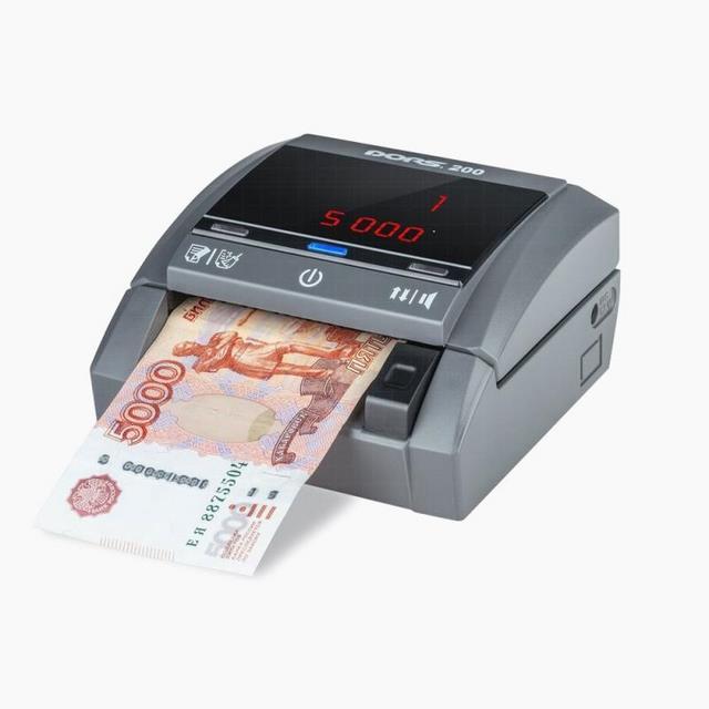 Счетчик банкнот/детектор